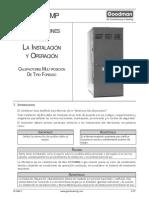 Manual Calefactor Goodman