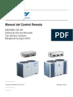 640CR090-160 Control Remoto