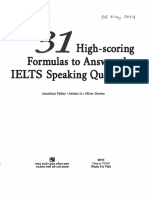 31 High-scoring Formulas to Answer the IELTS Speaking Question