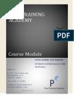 Course Module ASIC Verification