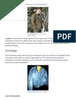 Jacket - Wikipedia, The Free Encyclopedia