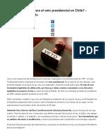¿Qué Es y Cómo Opera El Veto Presidencial en Chile_ - Libertad y Desarrollo