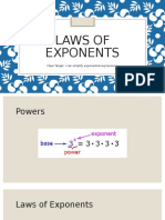 laws of exponents  2
