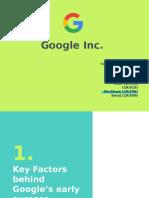 Google Inc case solution