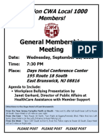 Meeting Flyer - 9/21/16