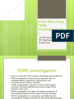 Drive Test Using Tems Investigation16
