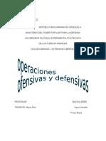 OPERACIONES OFENSIVAS