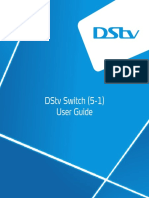 DStv Explora Switch User Manual