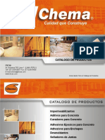 Catalogo de Productos Chema