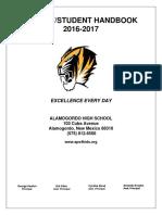 2016-2017 ahs handbook