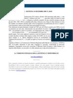 Fisco e Diritto - Corte Di Cassazione n 26341_2009