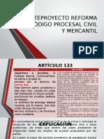Anteproyecto Reforma Código Procesal Civil y Mercantil Guatemala