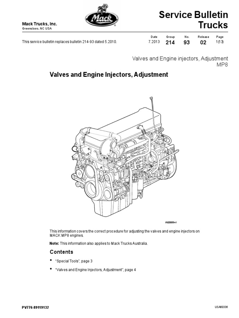 mack mp7 engine parts diagram