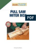 SN11536 Pull Saw Miter Box