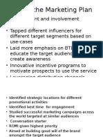 USP of Marketing Plan