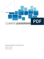 Climate Leadership Team report
