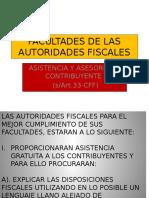 Facultades de Las Autoridades Fiscales
