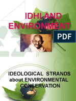 Gandhi and Environment