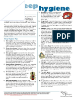 info-sleep hygiene