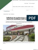 Influência Do Modernismo Carioca é Marca Do Curitibano Lolô Cornelsen - Haus