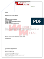 Carta Comercial Bloque Extremo