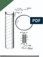 Paper tube Patente 2888043