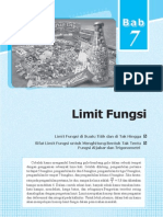Limit Fungsi XI IPA