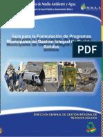 Guia Para La Formulacion de Programas Municipales de Gestion