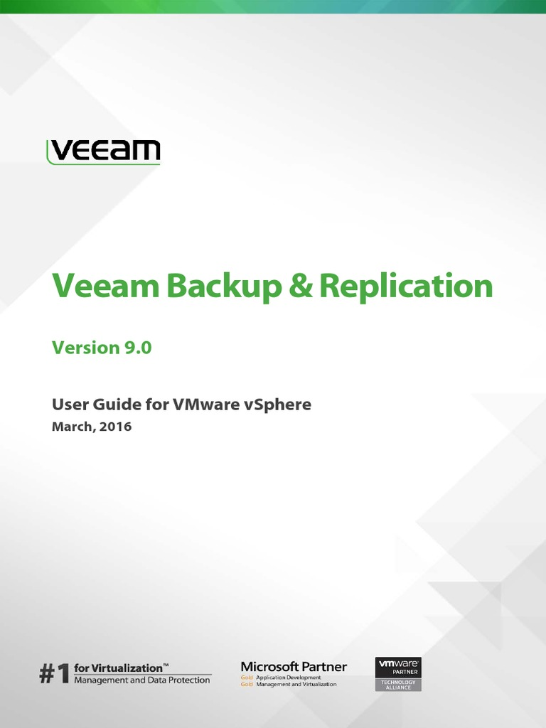 veeam backup 9 0 user guide vsphere en replication computing rh scribd com Veeam Windows 1.0 Veeam Wallpapaer