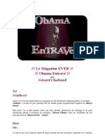 """""""Obama Entravé"""" par Gérard Chaliand cf"""