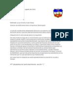 Quetzaltenango 17 de Agosto de 2016 Carta Injag