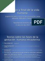 Comienzo y Fin de La Vida Humana-2013