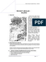 Penyakit Menular Malaria BB 05 D