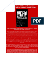 Omar Pérez Santiago. Nefilim en Alhué y otros relatos sobre la muerte. Santiago de Chile