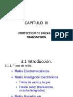 Capitulo III-proteccion de Lineas de Transmision