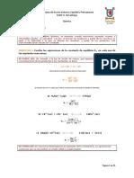 Guía equilibrio químico