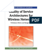 AA-Quality of Service Architectures for Wireless Networks Performance Metrics and Management 2