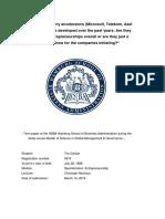 Evaluation of Corporate Accelerator Programs