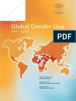 Global Gender Gap Report 2007