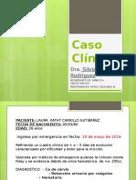 Caso Clinico Oncologia Ginecologica