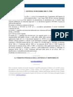 Fisco e Diritto - Corte Di Cassazione n 27900_2009