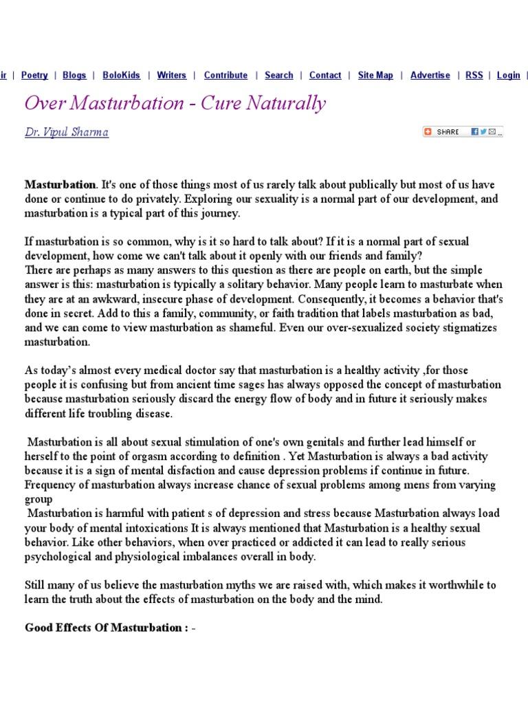 mastrubation y disfunción eréctil