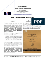 Jurisdiction - How to Defend Rural America