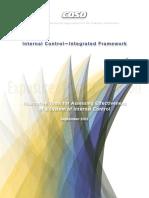 COSO 2012 Internal Control—Integrated Framework