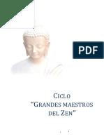 Grandes Maestros Del Zen 1