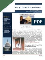 C4C Federal Exchange Newsletter  (Aug./Sept. 2016)