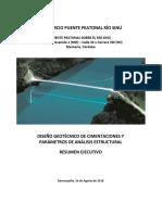 Puente Peatonal Montería Resumen Ejecutivo
