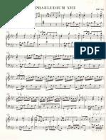 Bach Prelude and Fugue XVII 17