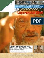 Monthly Individual Report - P3MD - Stephanus Mulyadi - TA PSD Kapuas Hulu-Juli 2016
