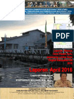 Monthly Individual Report - P3MD - Stephanus Mulyadi - TA PSD Kapuas Hulu-April 2016